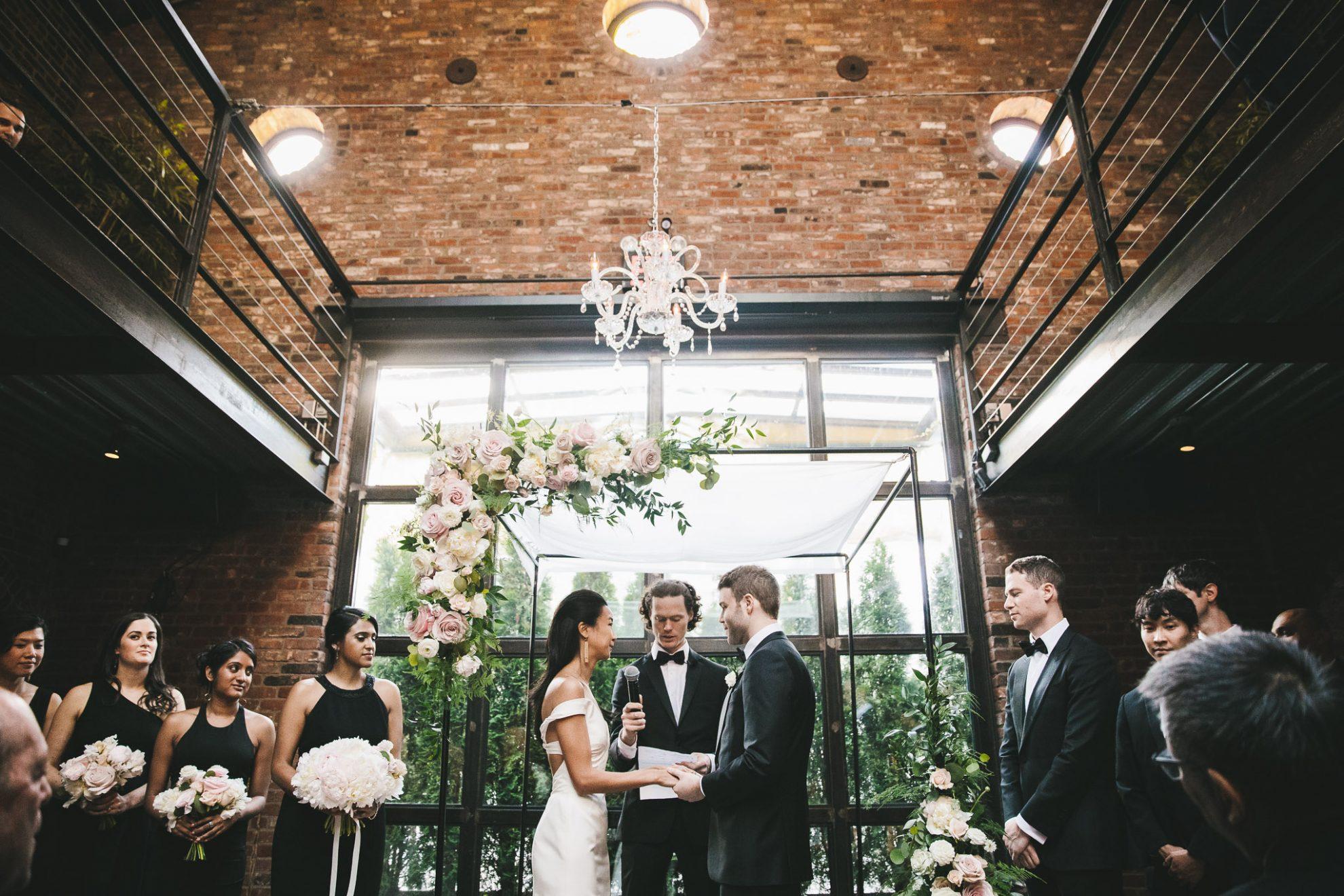Foundry Wedding Long Island City Photo By Edward Winter Readyluck