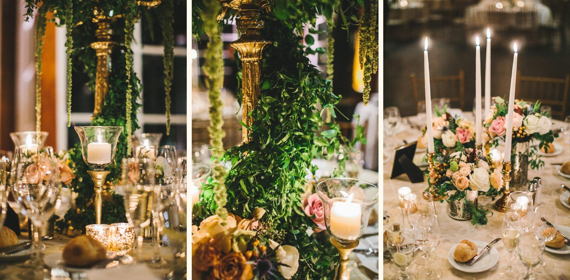Lenox Hill Florist Reception Details At Central Park Boathouse Wedding Photo By Edward Winter