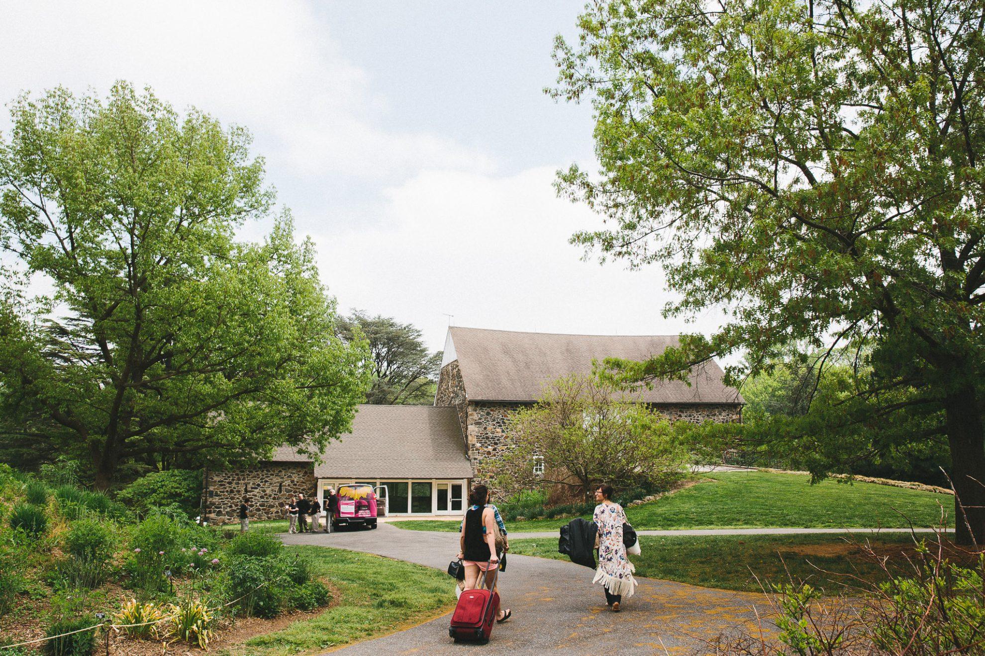 Picture of: Tyler Arboretum Wedding Readyluck Adrienne Josh