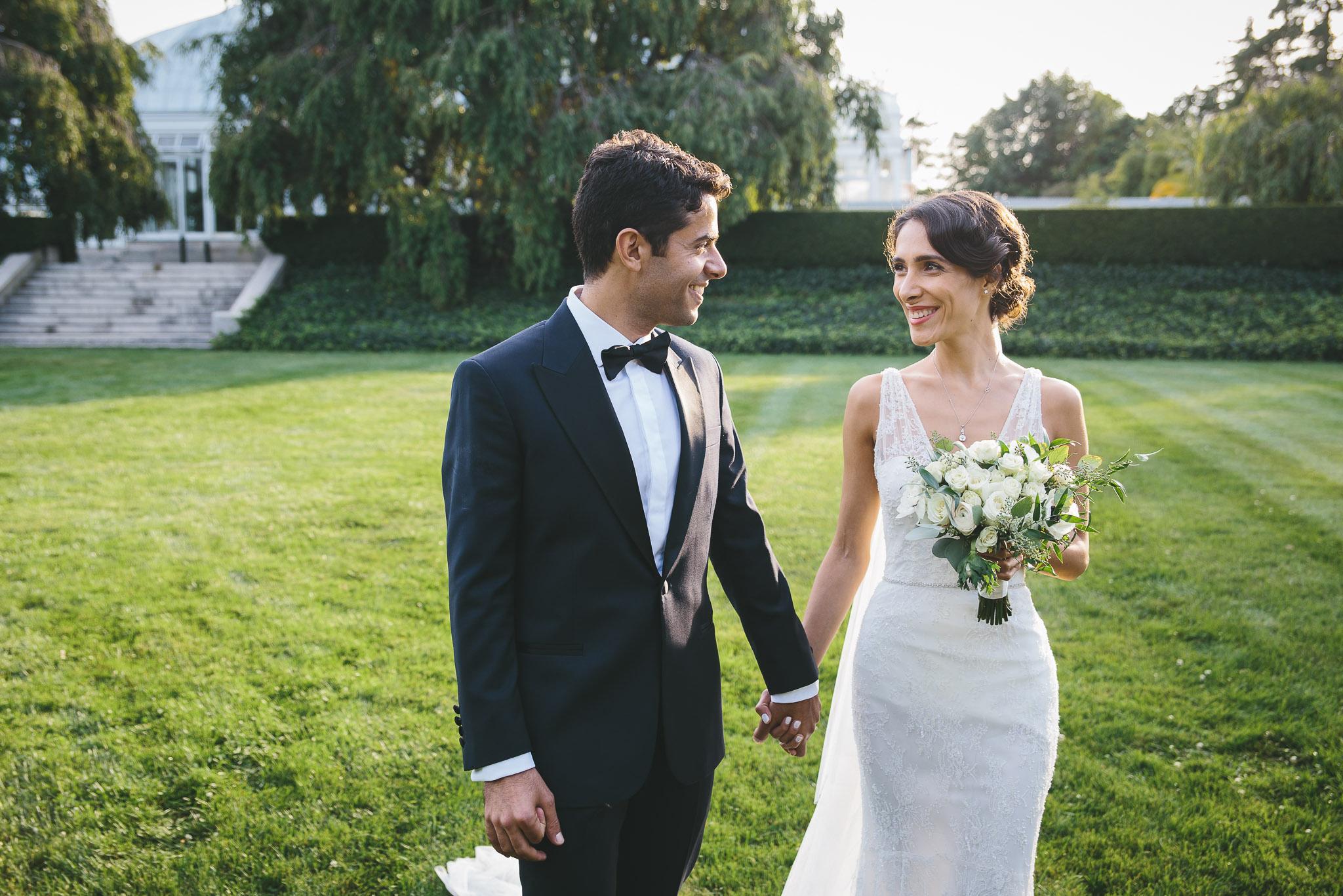 bronx botanical garden wedding sezin eythan - Botanical Garden Wedding
